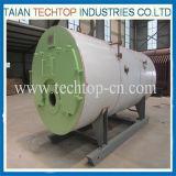 het Hete Water van het Type 0.1-10tons Wns, de Roestvrije In brand gestoken Boiler van het Gas Diesel