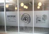 Etiquetas engomadas heladas vidrio auto-adhesivo cortadas con tintas de la película de la ventana de la aislamiento