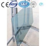 Galleggiante tinto/libero dell'azzurro del lago/ha temperato il vetro riflettente per costruzione