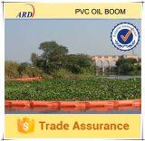 Boom do petróleo contínuo econômico comum do flutuador do PVC usado para a resistência de petróleo