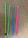 고품질 플라스틱 라운드 또는 육각형 Hb 색깔 연필