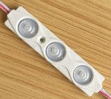 Luz caliente del módulo de la inyección LED de las ventas 3LEDs 2835 del nuevo mejor precio para la muestra