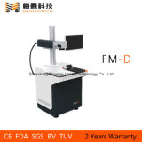 La fibra láser portátil máquina de la marca de China para la pequeña empresa