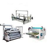 Einzelnes Gesichts-gewölbter Pappe-Produktionszweig und Karton-Maschine
