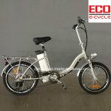 Bateria de lítio e bicicleta elétrica de dobramento