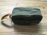 Custom High Quality Dopp Kit couro de lona encerado