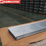 Гальванизировано настилающ крышу лист для напольной тени крыши