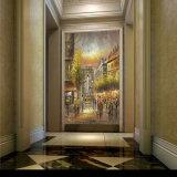 Hotel&Homde 장식적인 벽 예술 파리 거리 예술 화포 유화