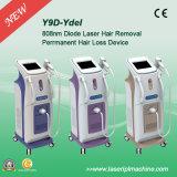 Macchina del laser di rimozione dei capelli del diodo di Y9d 808nm per depilazione del corpo delle donne