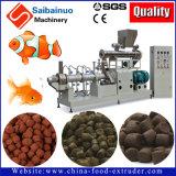 Linha de produção da planta da extrusora do alimento da pelota dos peixes que faz a máquina