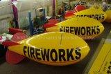 Aerostato dell'elio, Zeppelin, aerostati dei fuochi d'artificio, piccoli dirigibili dell'elio (K7010)
