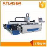 Máquina de estaca do laser da tubulação e da placa do sinal de estrada