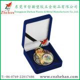 De Doos van de Verpakking van de Medaille van het Fluweel van Custmos voor de Giften van de Herinnering