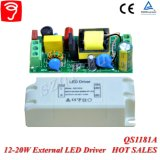12-20W Hpf breite Spannung lokalisierter externer LED Fahrer mit Cer TUV QS1181A