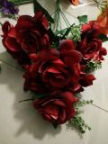 Flores artificiales de Sweety Rose 42cm Gu-D70241