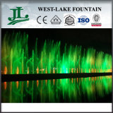 Large esterno Musical Water Fountain Running Water Fountain su The Lake per Watching