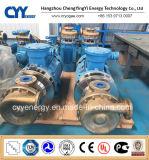 Bomba centrífuga criogénica del agua de líquido refrigerador del argón del nitrógeno del oxígeno líquido