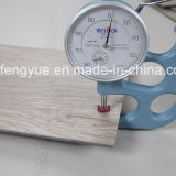 Étage de vinyle de Vierge de système de cliquetis pour la construction commerciale