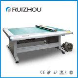 Trazador de gráficos del cortador del CNC de la muestra del rectángulo del cartón