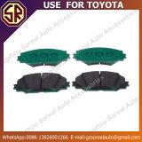 Gebrauch der Qualitäts-Autoteil-Bremsbelag-04465-02220 für Toyota