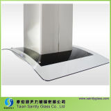 Vidro curvado material da capa da escala do vidro de flutuador para a máquina da capa da escala de cozinha