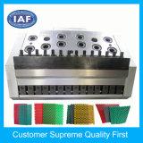 Kundenspezifische einzelne Farben-Höhlung-Fußboden-Matten-Plastikstrangpreßverfahren