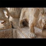 De marmeren Fontein Empador Zwarte Fontein mf-1152 van het Graniet van de Fontein van de Steen van de Fontein Verontruste