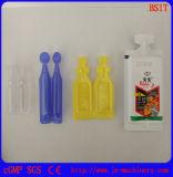 플라스틱 앰풀 (약제 pestidide) 채우는 밀봉 기계