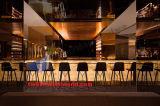 TW encendida barra el contador de piedra artificial contrario de la barra de los muebles de la barra para el club de noche