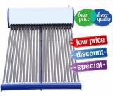 Coletor solar solar de calefator de água quente da Não-Pressão