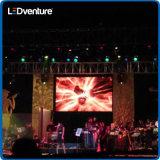 Affitto gigante dell'interno della visualizzazione di LED di colore completo per il congresso, eventi, partiti, riunioni