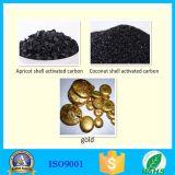 Ouro que refina escudo especial o carbono ativado