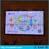 Casella chiara sottile acrilica personalizzata commercio all'ingrosso di formato LED