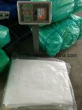 Couverture blanche de camion de bâche de protection de PE, bâche de protection lourde