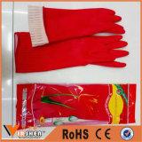 世帯のゴム製手袋の長いクリーニングの乳液の手袋