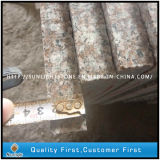 Passos de escada das etapas da pedra do granito G664 e montantes naturais baratos