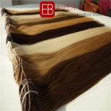 Weft拡張の毛の織り方の人間の毛髪クリップ