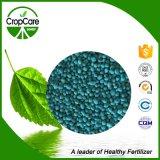Fertilizante granulado do composto NPK da eficiência elevada