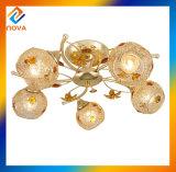 Канделябр цвета золота кристаллический большой для трактира и гостиницы