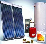 Calentador de agua solar a presión de Heatpipe