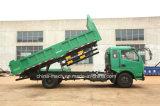 Carro de descargador de ka 120HP 4X2 de Dongfeng/Dfm/DFAC Furui/carro del camión/carro de vaciado