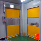 Porta automática da porta de alta velocidade do obturador de rolamento