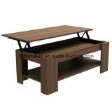 居間の家具の木製のMorden MDFの上昇の上のコーヒーテーブル