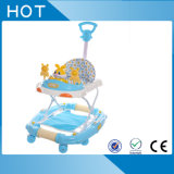 Le marcheur de oscillation se pliant de bébé de vente chaude de la Chine vont en rond avec Pushbar