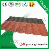 Tipo schiavo mattonelle rivestite di punto della pietra calda di vendita del Kenia/mattonelle di tetto di pietra del metallo del chip