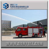 3000L+1000L Dfac 4X2 Water Tank Foam Fire Fighting Truck