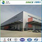 Costruzione prefabbricata del pannello a sandwich della struttura d'acciaio/magazzino d'acciaio
