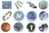 Materiales utilizados metal y no metal incluidos de la máquina de la marca del laser