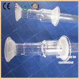 Industria fotovoltaica con il tubo di scarico del quarzo, tubo di scarico del quarzo