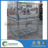 Recipiente dobrável do rolo do engranzamento de fio do armazenamento do armazém no tipo de levantamento